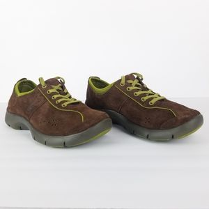 Dansko Brown Suede Sneakers Shoes 37/6.5-7